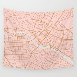 Berlin map Wall Tapestry