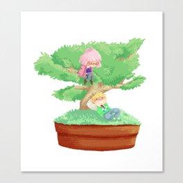 Bonsai Buddies Canvas Print