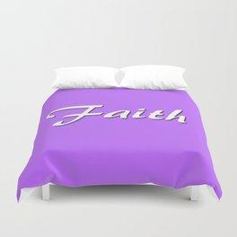 Faith Duvet Cover