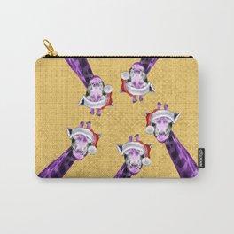 Tis The Season - Giraffe Carry-All Pouch