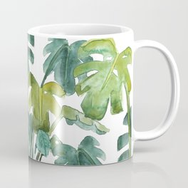 Split-Leaf Philodendron Coffee Mug