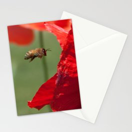 The Levitating Bee Stationery Cards