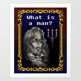 Dracula Jeopardy Art Print