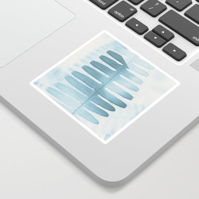 BLUE FERN Sticker