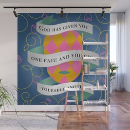 Hamlet Quote Wall Mural