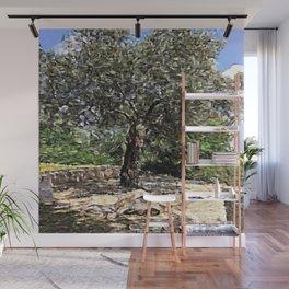 Tree of Geometry Wall Mural