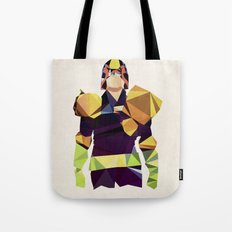 Polygon Heroes - Dredd Tote Bag