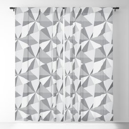 Abstract Pattern Blackout Curtain