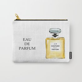 Yellow Parfum Carry-All Pouch