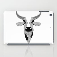 cow iPad Cases featuring Cow by Art & Be