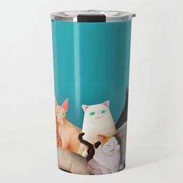 Gatos / Cats Travel Mug