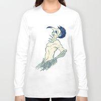 birdman Long Sleeve T-shirts featuring Birdman by DogoD Art