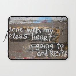 useless heart Laptop Sleeve