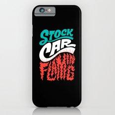 Stock Car Flaming iPhone 6s Slim Case