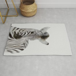 zèbre, be unique like an zebra,Safari animals wall art,  Rug