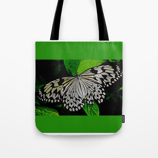 LACE -WINGED Tote Bag