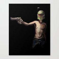 Boba Fett's Smith and Wesson Canvas Print