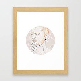 Colour me blind II Framed Art Print