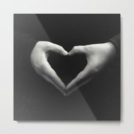 Public displays of affection Metal Print