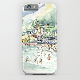 Amalfi beach / Italy iPhone Case