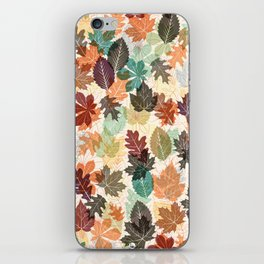 Autumn Leaves 2 iPhone Skin