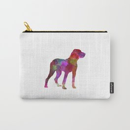 Ariege Pointer in watercolor Carry-All Pouch
