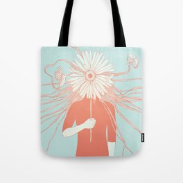 Flower Girl (Life and the Fragile Presence of Beauty) Tote Bag
