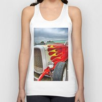 ford Tank Tops featuring 32' Ford by Dave Johnson