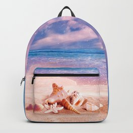 On the beach Backpack