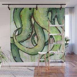 Cthulhu Green Tentacles Wall Mural