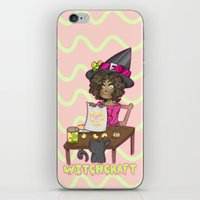 witchcraft iPhone & iPod Skins featuring Witchcraft by Olivia Dierker