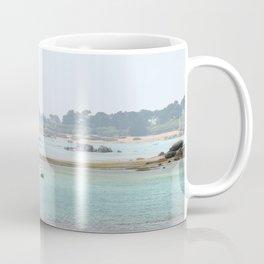 Walking on the shore Coffee Mug