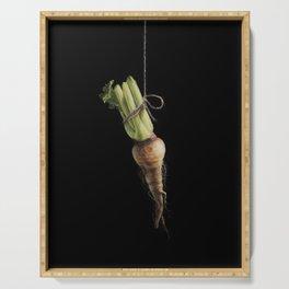 Vegetable Vanitas: The Parsnip by Brooke Figer Serving Tray