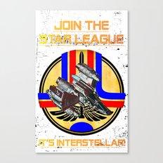 Join the Star League! Canvas Print