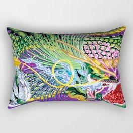 Dragon Of The Rose Rectangular Pillow