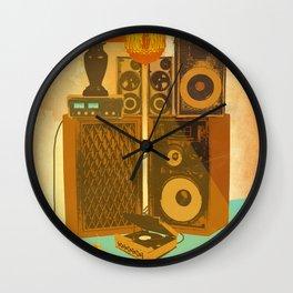 RECORD ROOM Wall Clock