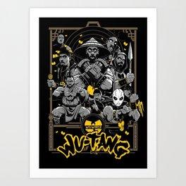 Wu Tang Forever Art Print