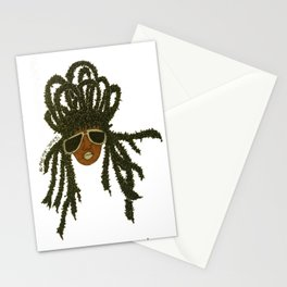 Crown of Locs Stationery Cards