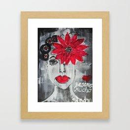 Besame mucho Framed Art Print