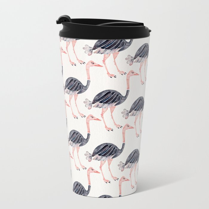 Ostrich Metal Travel Mug