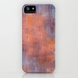 Orange Color Fog iPhone Case