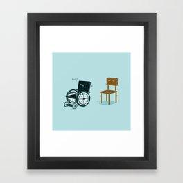 Enabled, Not Disabled Framed Art Print