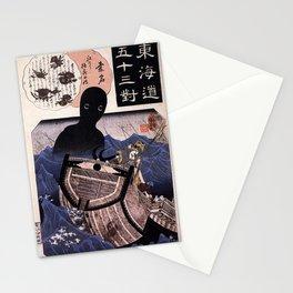 Japanese Yokai: Umibozu Stationery Cards