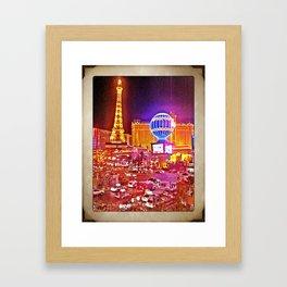 Vegas! Framed Art Print