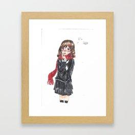 Ayano Tateyama Goodybye Framed Art Print