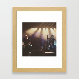 Austin Carlile and Aaron Pauley of Of Mice & Men- #Bands Framed Art Print