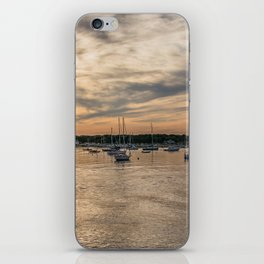 Hyannis sunset iPhone Skin