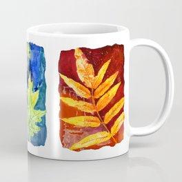 Colorful Summer Leaves Coffee Mug