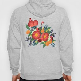 Oranges and Blueberries Hoody