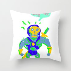 Masters of the universe of love 2 Throw Pillow